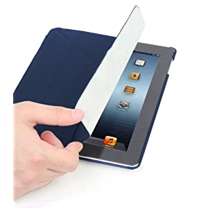 Photive Origami Style Case Stand  for the New iPad - Side