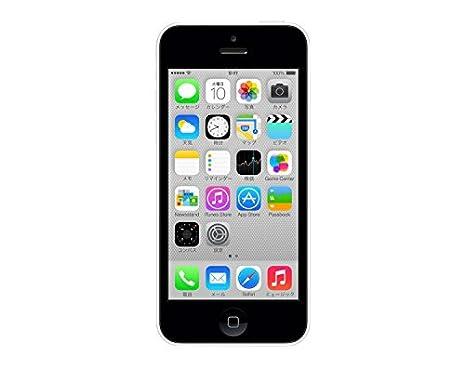 アップル docomo iPhone 5c 16GB ホワイト ME541J/A 白ロム Apple