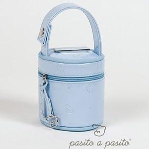 PASITO A PASITO Cupcake Funda Chupete (Azul Nube) por PASITO A PASITO