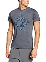 LAFUMA Camiseta Manga Corta Camp (Antracita / Azul)