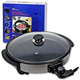 Sarten Electrica Multifuncional Pizza Pan 34 cm