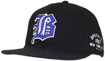 Blue Marlin Mens Classic Brooklyn Short Brim Wool Hat by Blue Marlin