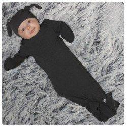 Woombie Baby Bamboo Mod Sleeper 95% Organic Bamboo/5% Spandex (5-13 Lbs., Rockstar) front-436147