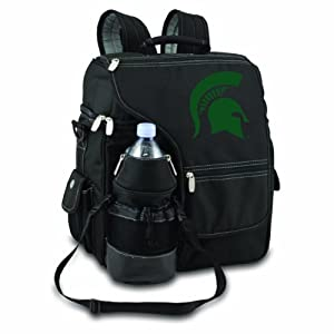 NCAA Michigan State Spartans Turismo Insulated Backpack Cooler by Picnic Time
