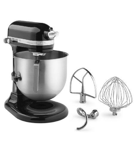 Kitchenaid Commercial 8-Qt Bowl Lift Nsf Stand Mixer Ksm8990Ob 1.3Hp Motor Black front-451676