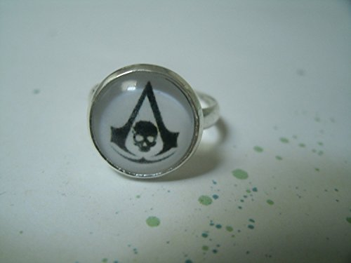 Logo Assassin's Creed Orecchini Chip / Gemelli / orecchini / anello / collana