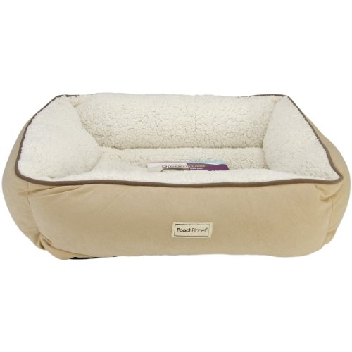 Phenomenal Poochplanet Dreamluxe Couch Style Pet Bed Medium 25 X21 X8 Bralicious Painted Fabric Chair Ideas Braliciousco