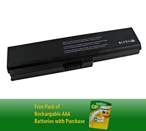Notebook Battery for Toshiba Satellite P755-S5262 (6-cell)