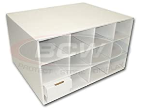 Card House Storage Box with 12 card boxes