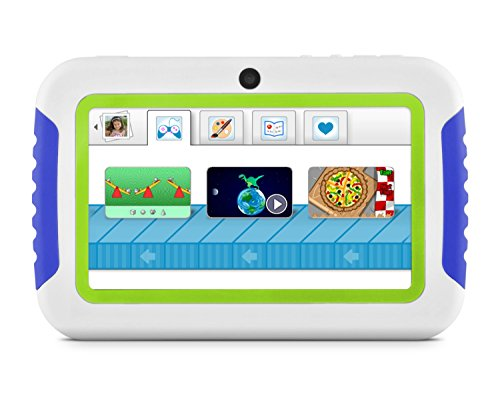 Ematic FTABMB2 4.3-Inch 4GB Fun Tab Mini Touch Screen Kids Tablet (Blue/Green)