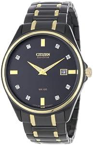 Citizen Men's AU1058-53G Diamond Eco Drive Watch