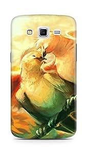 Amez designer printed 3d premium high quality back case cover for Samsung Galaxy Grand 2 G7102 (Love birds)