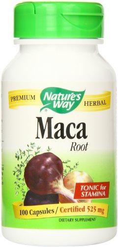Nature's Way Maca Root, 525 mg., 100 Capsules
