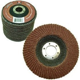 """10 Pack 4-1/2"""" Auto Body Sanding Flap Discs 80 Grit from Neiko"""