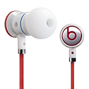 iBeats Headphones with ControlTalk From Monster - In-Ear Noise Isolation (White) (Discontinued by Manufacturer)