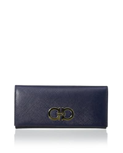 Salvatore Ferragamo Women's Organizer Wallet, Blue
