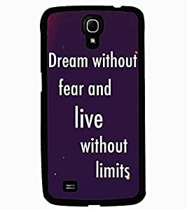 ColourCraft Quote Design Back Case Cover for SAMSUNG GALAXY MEGA 6.3 I9200