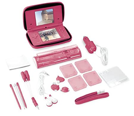 22-In-1 Deluxe Starter Kit for DSi - Pink