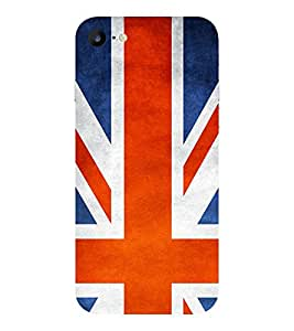 Evaluze flag Printed Back Cover for APPLE IPHONE 7