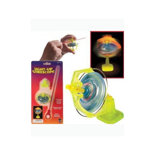 Toysmith Mini Lite-Up Gyroscope