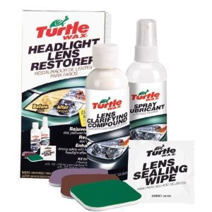 Turtle Wax Headlamp / Headlight Lens Restoration Kit Removes Scratches And Dulling Headlamp Restorer*NO1 in the USA*
