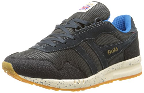 Gola Men's Katana Ranger Fashion Sneaker, Grey/Black/Blue, 11 M US