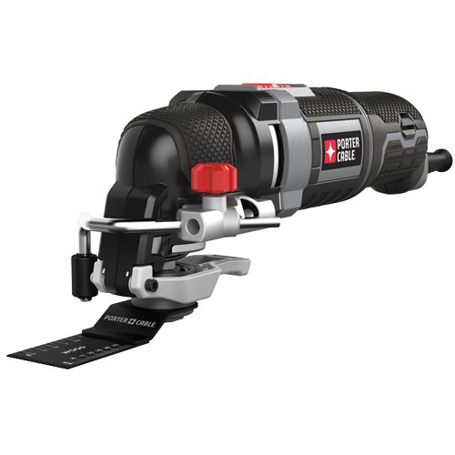 Big Save! PORTER-CABLE PCE605K 3-Amp Corded Oscillating Multi-Tool Kit with 31 Accessories