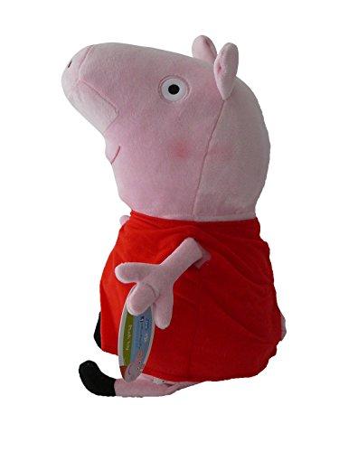 Peppa-Pig-27cm-Peluche-Cerdita-Vestido-Rojo-Mueco-Original-Serie-TV-Nia-Super-Suave-Alta-Calidad-Nuevo-Nickelodeon-Junior-Nick-Dibujos-Animados
