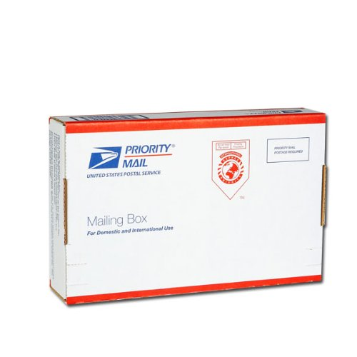 """Amazon.com : USPS Priority Mail Large Video Box 9 1/4"""" x 6 1/4"""" x 2"""