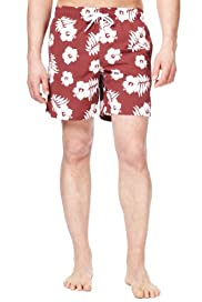 Blue Harbour Floral Print Swim Shorts [T28-7983B-S]