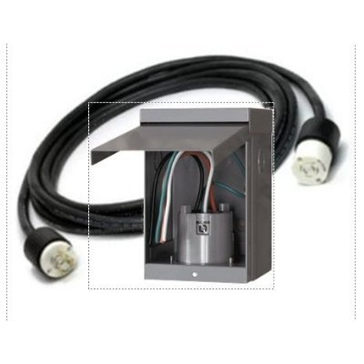 cord the male plug is nema l14 20p power cord