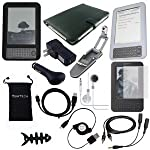 Best Price – TsirTech 14-Item Accessory Bundle for Amazon Kindle 3 3rd Gen Wireless Reading Device (6″ Display, 3G Global Wireless, Latest Generation) Review