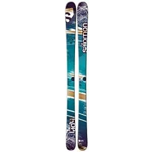 Salomon Lady Ski - Women's Blue Green/Brown/White, 153cm