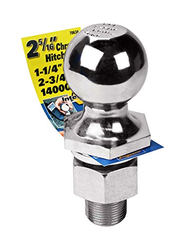 Review Reese Towpower 7063400 2-5/16″ Chrome Class V Hitch Ball