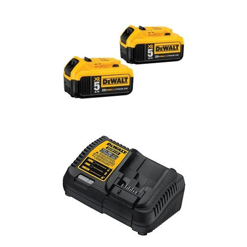 DEWALT-DCB205-2-20V-MAX-XR-50Ah-Lithium-Ion-Battery-2-Pack