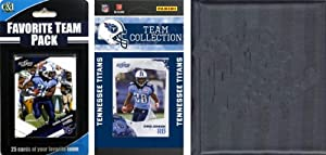 NFL Tennessee Titans Licensed 2010 Score Team Set and Favorite Player Trading Card... by C&I Collectables