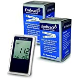 Embrace No-code Talking Meter Kit with 100 Test Strips