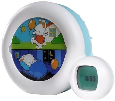Kid'Sleep Moon Wake-Up Night Light Alarm Clock