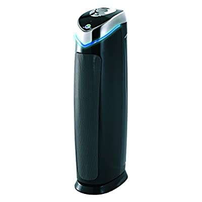 GermGuardian RAC5000 Factory Reconditioned 3-in-1 True HEPA Air Purifier with UV Sanitizer and Odor Reduction, 28-Inch Tower