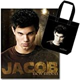 Twilight Saga New Moon Jacob and Tattoo fleece blanket and tote bag set