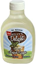 Kelly39s Delight All Natural Pure Cane Liquid Sugar 16oz Bottle Pack of 4