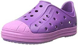 crocs Bump It Shoe Slip-On Shoe (Toddler/Little Kid), Amethyst/Wild Orchid, 8 M US Toddler
