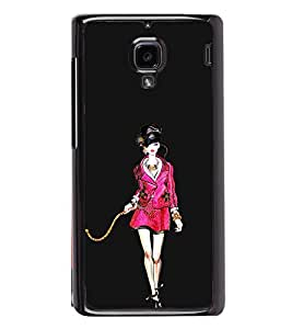 Ramp Walk 2D Hard Polycarbonate Designer Back Case Cover for Xiaomi Redmi 1S :: Xiaomi Redmi 1
