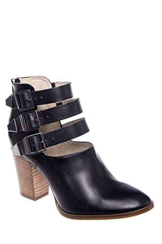 Haywire Mid Heel Caged Bootie