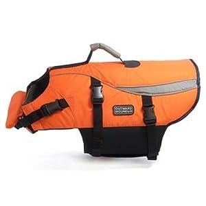 Kyjen Outward Hound Life Jacket, Large, Orange