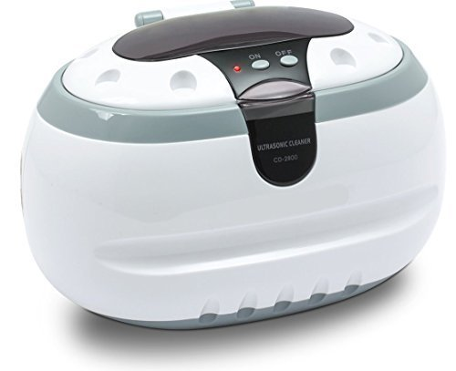 Generic-Sonic-Wave-CD-2800-Ultrasonic-Jewelry-and-Eyeglass-Cleaner-WhiteGray