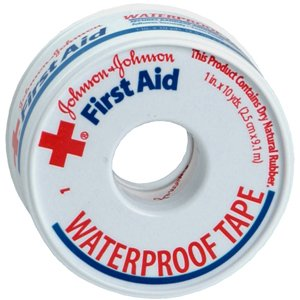 Johnson & Johnson First Aid Wp Tape 1Ix10Yd 1 Each front-825737