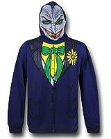 Joker Face Adult Costume Hoodie Dc Comics Batman