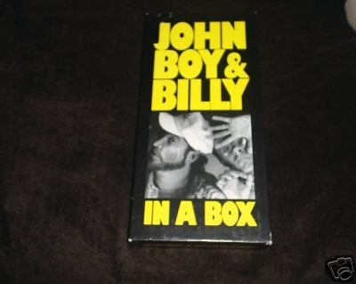 John boy and billy in a box set of 4 cds for Joy gift and jewelry sydney ns