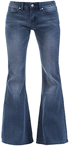 R.E.D. by EMP Leila (Boot-Cut) Jeans donna blu scuro W34L34